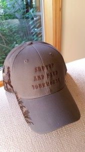 Shut Up & Feed Your Horse Hat Sage $207