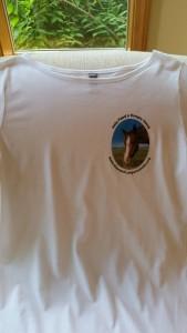 Three Quarter Sleeve White Shirt